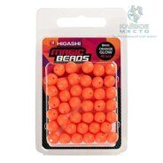 Бусины Higashi MBS-8 (set-40pcs) (#Orange Glow)