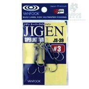 Крючки Assist Hook Vanfook JS-39 #1 silver