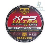 Леска флюорокарбоновая Trabucco T-Force XPS Ultra Strong Fluorocarbon 50м 0.104мм 1.560кг прозрачная