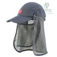 Кепка Naturehike Folding Breathable Gray 56-59