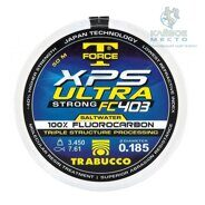 Леска флюорокарбоновая Trabucco T-Force XPS Ultra Strong Saltwater Fluorocarbon 50м 0.104мм 1.560кг прозрачная