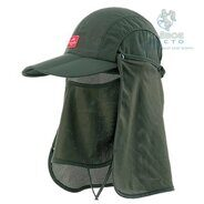 Кепка Naturehike Folding Breathable Green 56-59