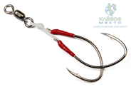 Крючки Higashi Twin Assist Hook HA-004 XXL